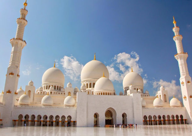 Sheikh-Zayed-Moschee-Abu-Dhabi