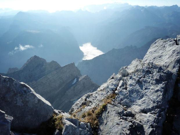 Beginn des Klettersteig zur Watzmannüberschreitung