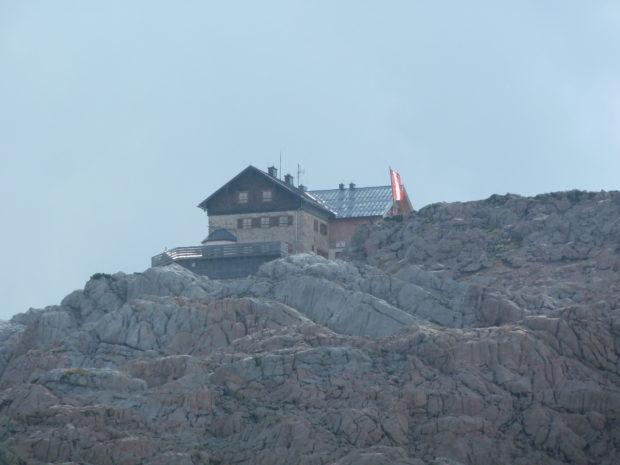 Das Ingolstädter Haus im Steinernen Meer von Berchtesgaden. (Alle Rechte vorbehalten)