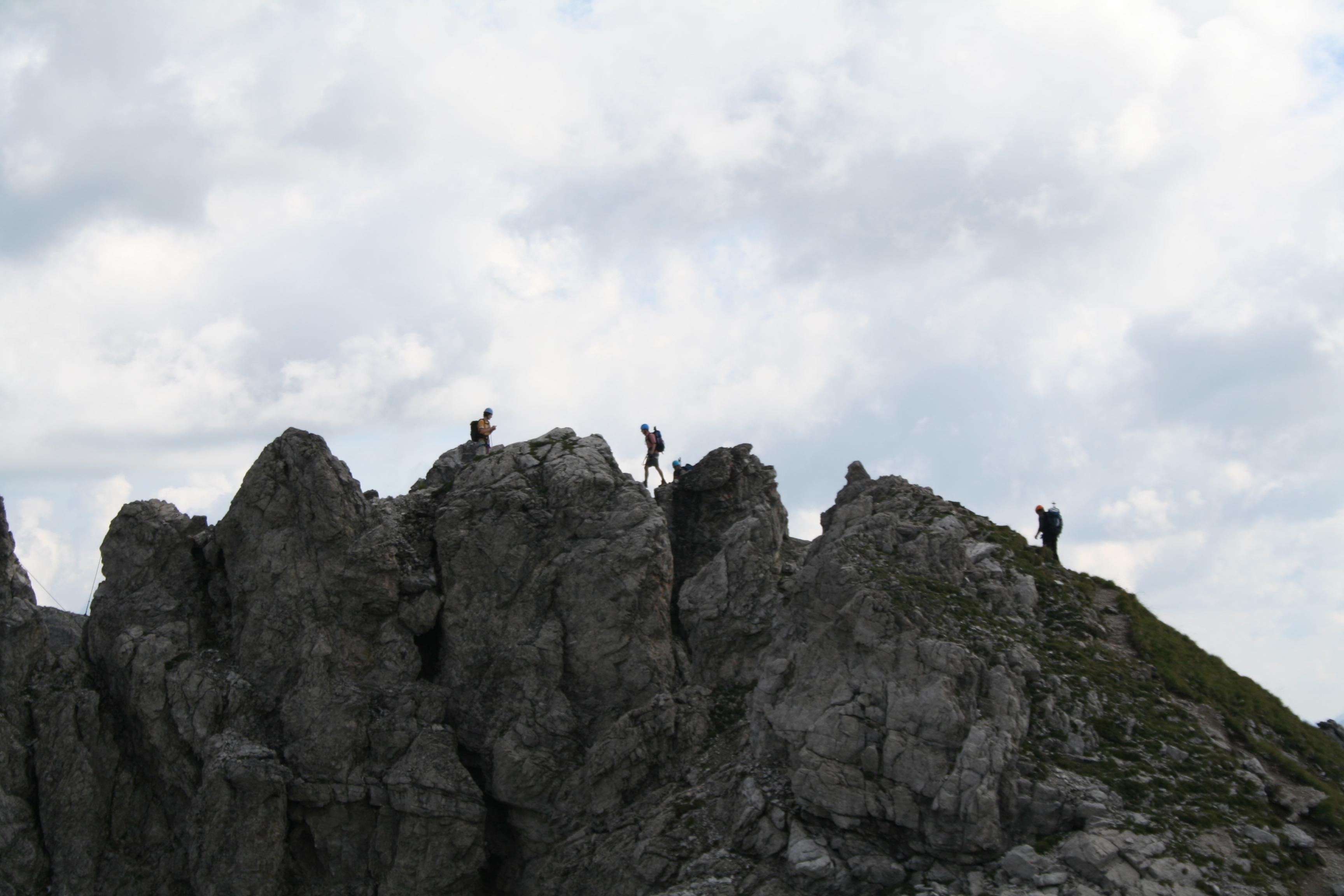 Klettersteig Mindelheimer : Via ferrata mindelheimer klettersteig deutschland allgäuer